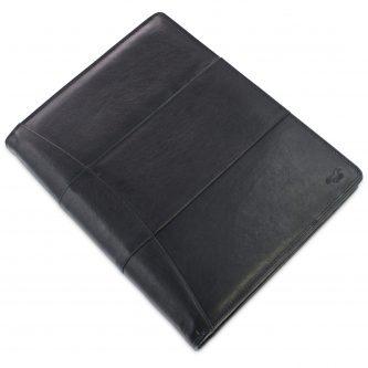 schrijfmap zwart